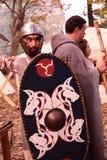 Festival celta 2017 de Motta - reenactment histórico Imagens de Stock