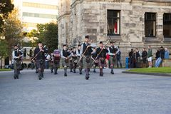 Festival celtico Fotografia Stock