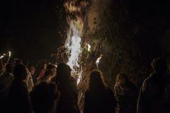 Festival celtique Italie de Beltane photographie stock
