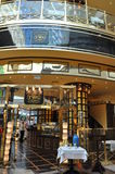 Festival Centre Mall in Dubai, UAE. TWG Tea Salon & Boutique at Festival Centre Mall in Dubai, UAE. Dubai Festival City is the Middle East's largest mixed-use Royalty Free Stock Photos