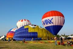 Festival chaud 2008 de ballons à air de Ferrare Images libres de droits
