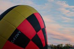 Festival chaud 2016 de ballon à air Images stock