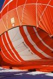 Festival chaud de ballon à air dans Tannheimer Tal, l'Europe Images stock