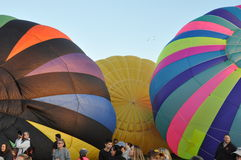 Festival 2015 chaud de ballon à air de la compagnie de pompiers de Plainville (CT) Photographie stock libre de droits