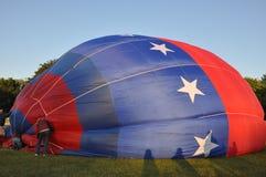 Festival 2015 chaud de ballon à air de la compagnie de pompiers de Plainville (CT) Photo stock