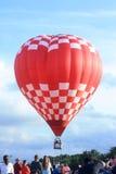 Festival chaud de ballon à air, Waterford, WI le 15 juillet 2016 Photos stock