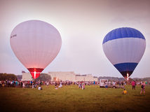 Festival chaud de ballon à air Images stock