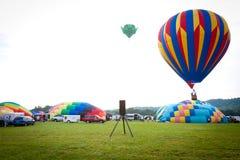 Festival chaud de ballons à air dans le New Jersey Image stock