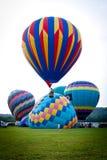 Festival chaud de ballons à air dans le New Jersey Image libre de droits