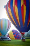 Festival chaud de ballons à air dans le New Jersey Images libres de droits