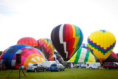 Festival chaud de ballons à air dans le New Jersey Photographie stock