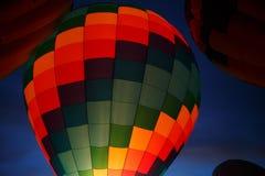 Festival chaud de ballons à air dans Pereslavl-Zalessky, vol de nuit de Yaroslavl Oblast dedans le 16 juillet 2016 Photos libres de droits