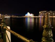 Festival chiaro di Sydney Fotografia Stock Libera da Diritti