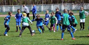 Festival of children`s football_12 Stock Image