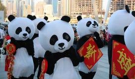 Festival chinês da cultura Cidade, executada dubai fotos de stock