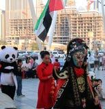 Festival chinês da cultura Cidade, executada dubai fotografia de stock royalty free