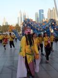 Festival chinês da cultura Cidade, executada dubai foto de stock