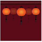 Festival Chinese Lantern Background - Illustration Royalty Free Stock Image