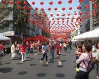 Festival chino 2016, Bangkok, Tailandia del Año Nuevo Fotos de archivo