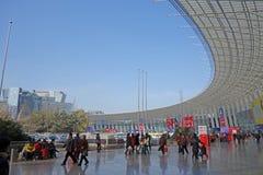 Festival chino de las compras del Año Nuevo en Chengdu Fotos de archivo