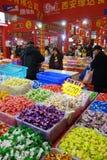 Festival chino de las compras del Año Nuevo en Sichuan Imagenes de archivo