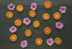 Festival chino del Año Nuevo de los accesorios naranja cortada y Fotos de archivo libres de regalías