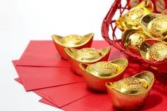 Festival chino del Año Nuevo, prisionero de guerra del ANG o paquete rojo y Fotos de archivo