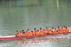 Festival chino del barco del dragón Imagenes de archivo
