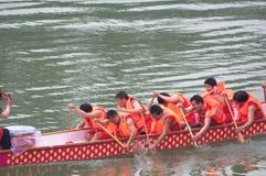 Festival chino del barco del dragón Fotografía de archivo
