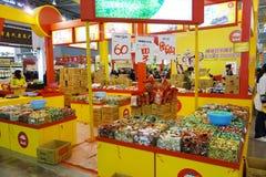 Festival chinois d'achats de nouvelle année à Chengdu Images libres de droits