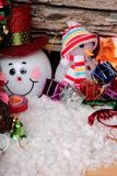 Festival of Christmas gifts and decorations xmas day. Stock Photo