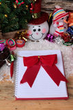Festival of Christmas gifts and decorations xmas day. Royalty Free Stock Photography