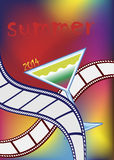 Festival cinematografico Immagini Stock Libere da Diritti