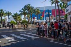 Festival cinematografico 2017 di Cannes Fotografia Stock