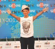 Festival cinematografico 2011 di Giffoni di Al di Dolcenera Immagine Stock