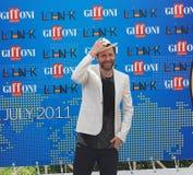 Festival cinematografico 2011 di Giffoni di Al di Jovanotti Fotografia Stock