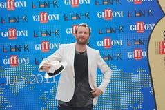 Festival cinematografico 2011 di Giffoni di Al di Jovanotti Fotografie Stock