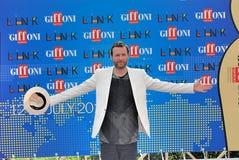 Festival cinematografico 2011 di Giffoni di Al di Jovanotti Fotografia Stock Libera da Diritti