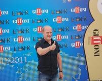 Festival cinematografico 2011 di Giffoni di Al di LluÃs Homar Immagini Stock