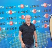 Festival cinematografico 2011 di Giffoni di Al di LluÃs Homar Fotografie Stock Libere da Diritti
