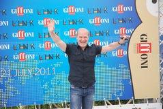 Festival cinematografico 2011 di Giffoni di Al di LluÃs Homar Immagine Stock Libera da Diritti