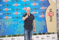 Festival cinematografico 2011 di Giffoni di Al di LluÃs Homar Fotografia Stock
