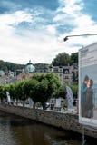 Festival cinematografico di Karlovy Vary, repubblica Ceca Fotografie Stock Libere da Diritti