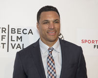 Festival cinematografico 2015 di Tribeca Fotografia Stock