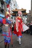 Festival cinese di nuovo anno Fotografia Stock Libera da Diritti