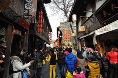 2014 festival cinesi della fiera e di lanterna del tempio del nuovo anno Fotografia Stock Libera da Diritti