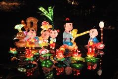 2014 festival cinesi della fiera e di lanterna del tempio del nuovo anno Fotografie Stock