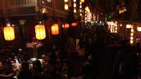 2014 festival cinesi della fiera e di lanterna del tempio del nuovo anno archivi video