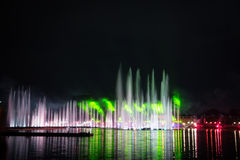 The Festival Circle of Light. The Rowing Channel. Royalty Free Stock Photos