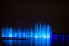 The Festival Circle of Light. The Rowing Channel. Stock Images